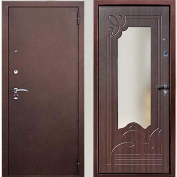 двери входные с зеркалом соотношение цена качество