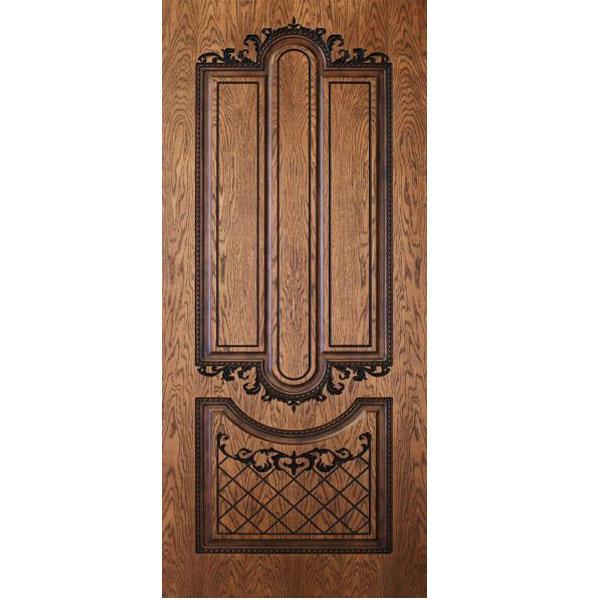 Двери с натуральным шпоном ореха в Ялте.
